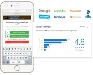 review summary on iphone